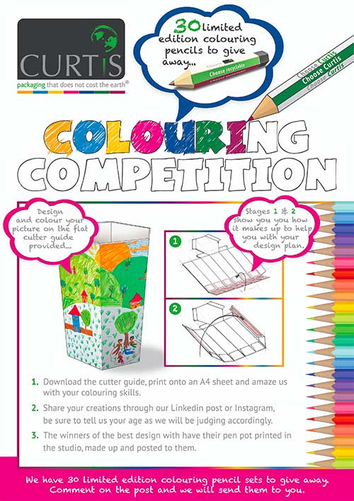 Curtis Colouring Competition